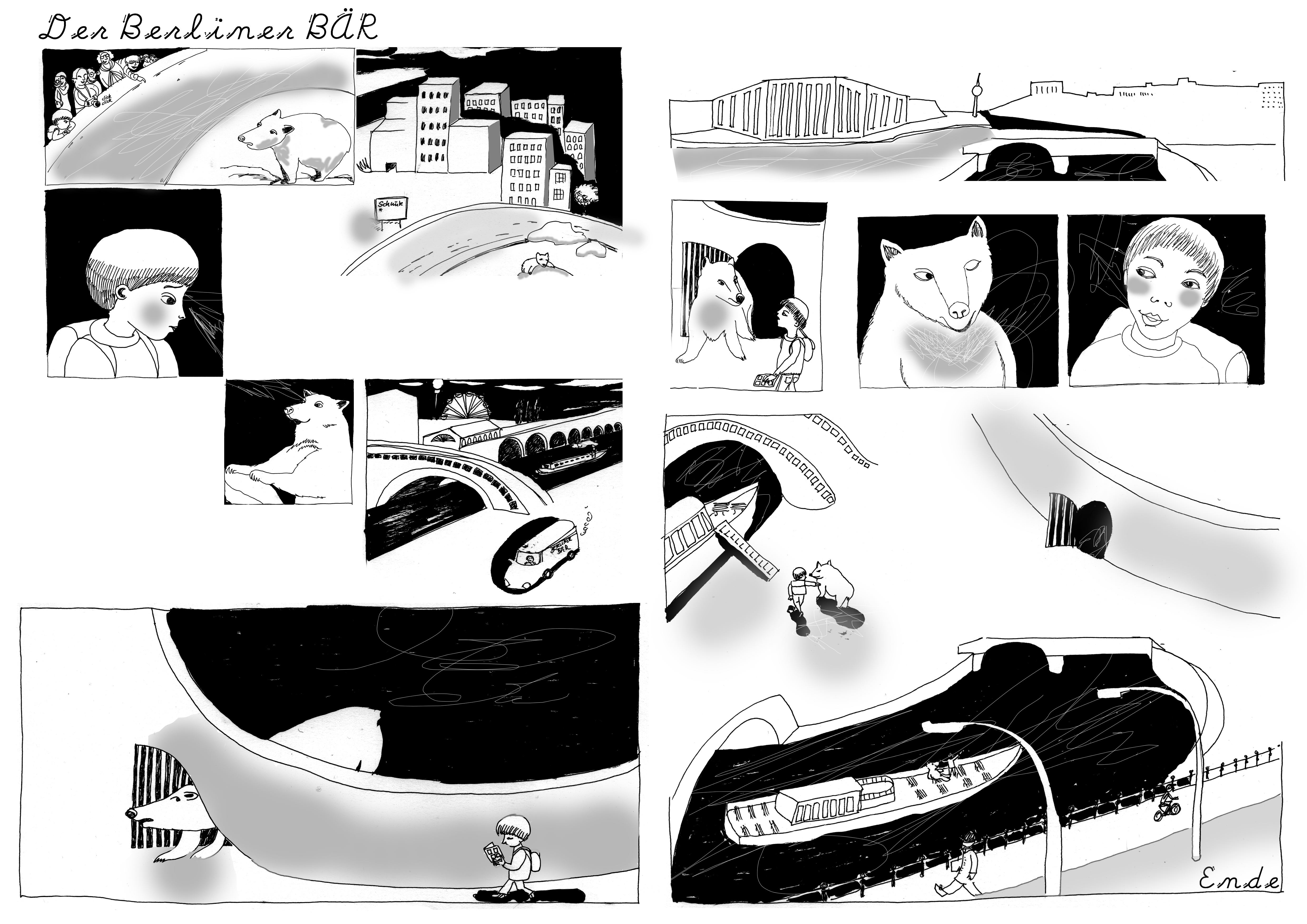 Der Berliner Bär- Comic
